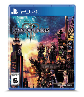 Kingdom Hearts 3 Formato Físico Ps4 Original