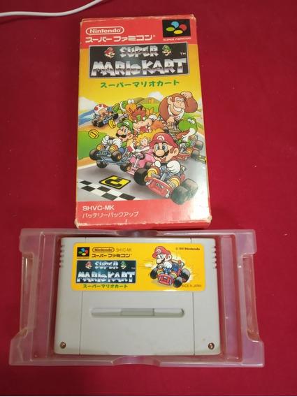 Mario Kart Super Nintendo Snes Frete 15 Reais