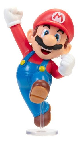 Imagem 1 de 4 de Boneco World Of Nintendo Super Mario Jumping Jakks Pacific