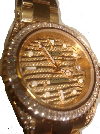 Reloj Nuevo Rolex Yacht Master Caballero Color Oro Swaroscky