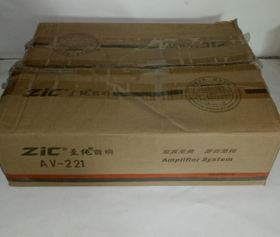 Karaoke Amplificador Mp3 Zic Av-221 Estéreo