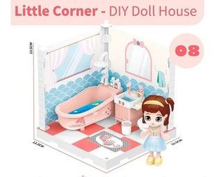 Little Corner 08 Muñeca Coleccionable Playset C/acc. Shine
