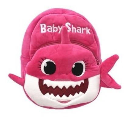 Mochila Baby Shark Para Niño O Niña