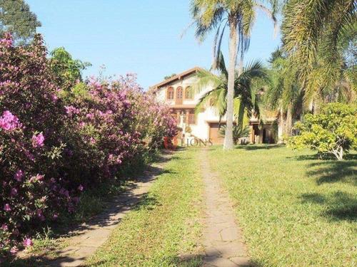 Chácara Com 5 Dormitórios À Venda, 3200 M² Por R$ 950.000,00 - Loteamento Rural Palermo - Gravataí/rs - Ch0018