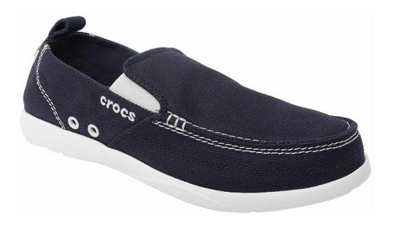 Tênis Crocs Iate Walu Marinho Tam: M9 (40bra)