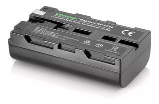 Bateria Np-f550 2600mah Reemplazo Sony Luz Led Monitor Hdmi