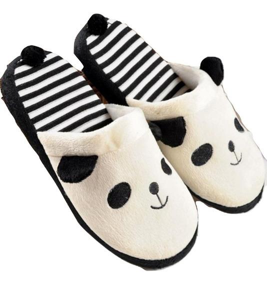 Pantuflas Panda Oso Kawaii Cute Zapato Unisex Bear Lindas