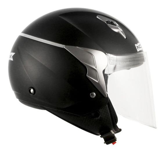 Capacete Norisk Jet Moto Motoqueiro Motociclista Motoboy