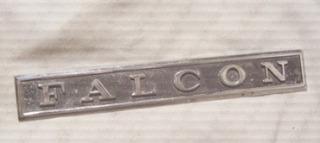 Antigua Insignia Falcon Acero Leyenda-ornamento Auto