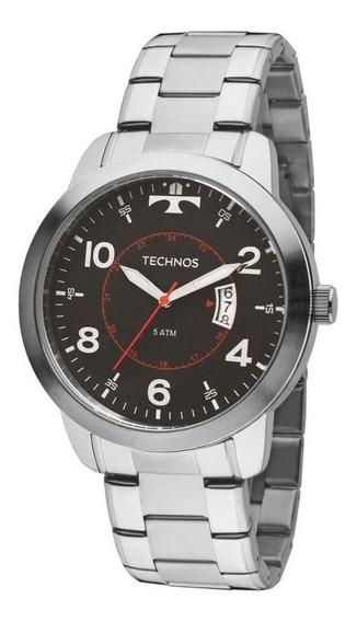 Relógio Technos Performance Racer 2115ktm/1p Prateado/preto