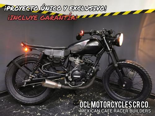 Imagen 1 de 8 de Moto Yamaha 125cc Scrambler ¡en Stock! (custom/cafe Racer)