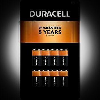 Baterias Duracell 9v8