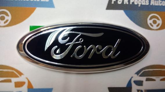 Emblema Dianteiro Ford Original Ka Hatch Sedan 2014 À 2018