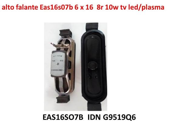 Par Alto Falante Eas16s07b 6 X 16 8r 10w Tv Led/plasma