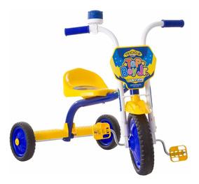 Triciclo 3 Rodas Bicicleta Infantil Menino Ultrabike Amarelo