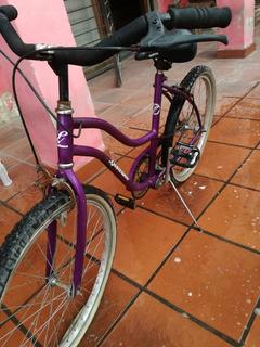 Bicicleta Playera Rodado 24 Impecable!