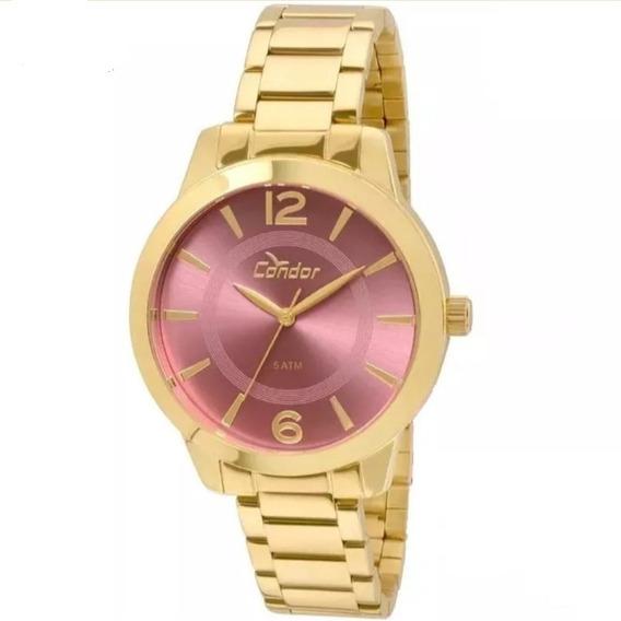 ?? Relógio Condor Feminino Dourado Co2035kqe/4t.