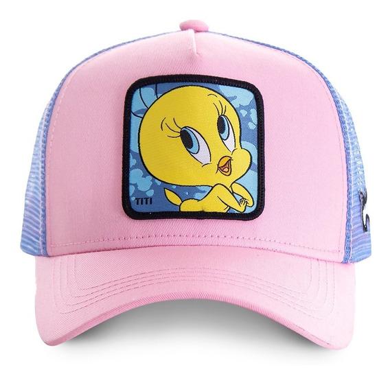 Gorras Capslab Looney Tunes - Tweety - Rosa