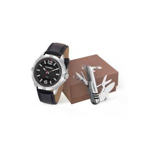 Kit Relógio Mondaime Masculino 83406g0mvnh1