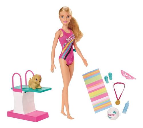 Barbie Dreamhouse Adventures Barbie Nadadora