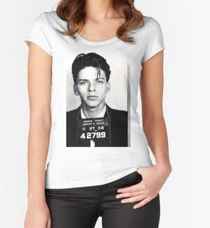 Remera Frank Sinatra Mug Shot Vertical De Tony Rubino