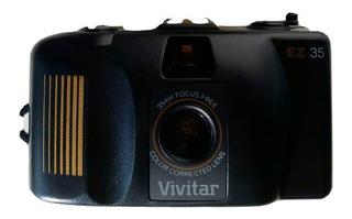 Câmera Fotográfica 35mm Antiga Com Filme