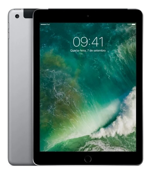 iPad Wii-fi+cellular Tela 9,7 4g 128gb A9 Mp262bz/a Promo
