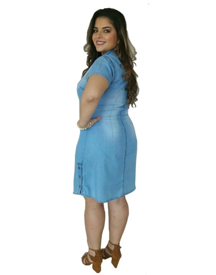 Vestidos Femininos Moda Evangélica Vestido Plus Size 019