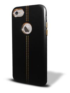 Funda Simil Cuero iPhone 8 8 7 Plus iPhone X + V. Templado
