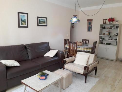 Apartamento Com 3 Dormitórios À Venda, 94 M² Por R$ 450.000,00 - Pitangueiras - Guarujá/sp - Ap10828