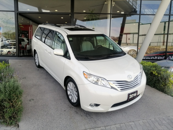 Toyota Sienna Limited 2014 Blanca