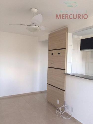 Apartamento À Venda, 45 M² Por R$ 180.000,00 - Vila Pacífico - Bauru/sp - Ap1678