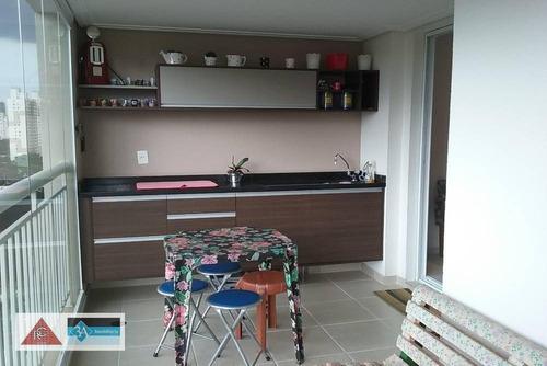 Imagem 1 de 30 de Apartamento À Venda, 73 M² Por R$ 620.000,00 - Tatuapé - São Paulo/sp - Ap6252