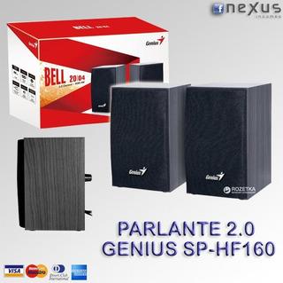 Parlante Genius Sp-hf160 Bell (4 Watts Rms)