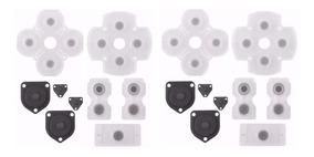 2 Kits Borrachas Reparo Controle Ps4 + Frete R$ 11,99