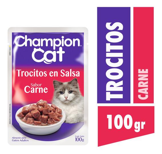 Champion Cat Pouch Carne 24x100g