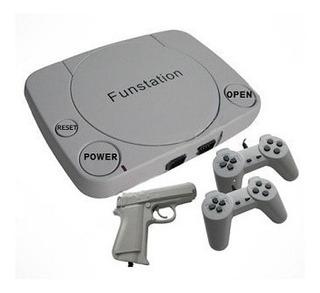 Consola Fun Station Juegos Cable Audio Video Controles