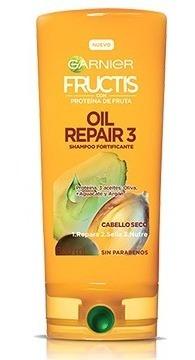 Acondicionador Fructis Oil Repair 3 X 350ml