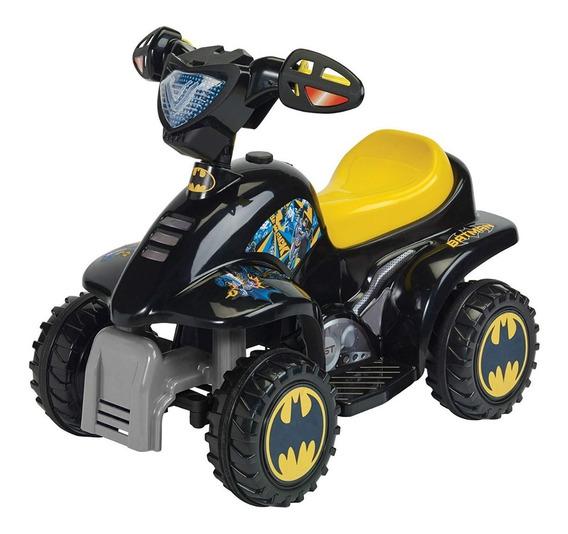 Montable Prinsel Moto Mini Quad Batman Electrica