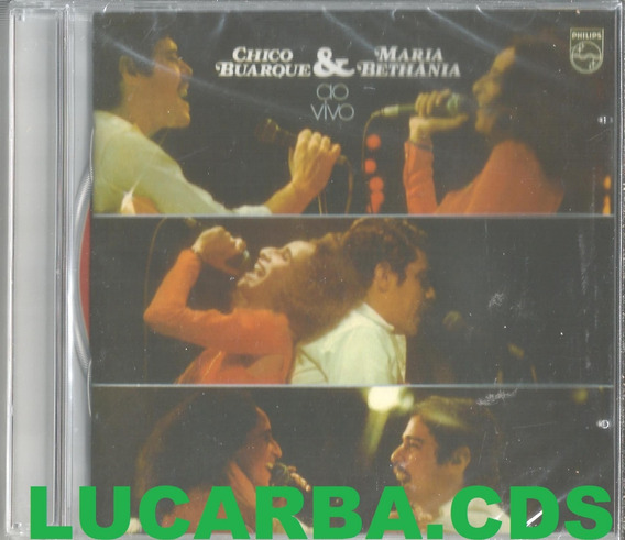 Cd - Chico Buarque E Maria Bethania - Cd Do Box - Lacrado