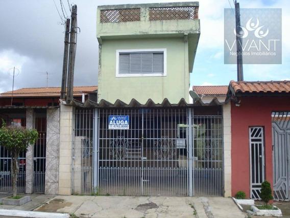 Sobrado Com 3 Dormitórios À Venda, 166 M² Por R$ 370.000 - Jardim Casa Branca - Suzano/sp - So0171