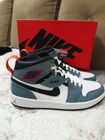 Tênis Nike Air Jordan 1 Mid Fearless