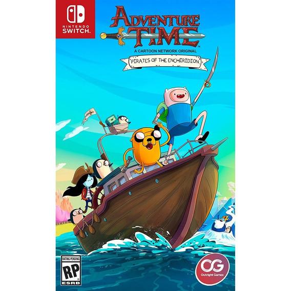 Adventure Time Pirates Of The Enchiridion Switch Mídia Fìsic