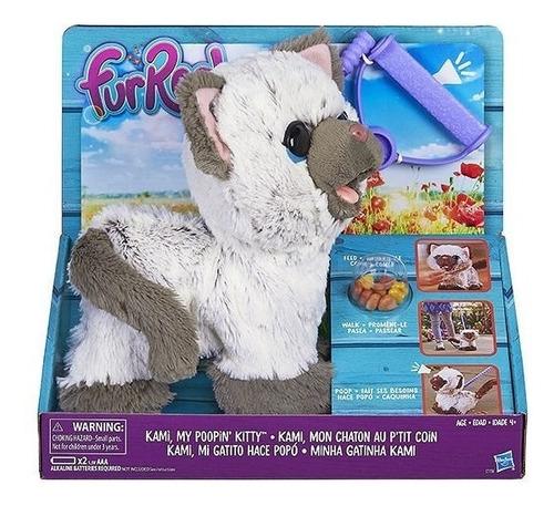 Imagen 1 de 7 de Kami Mi Gatita Hace Popó! Con Sonido. Hasbro Furreal Kreker