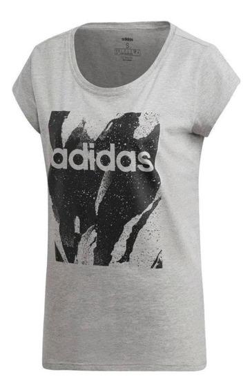 Camiseta Essentials Aop Feminina Du0636