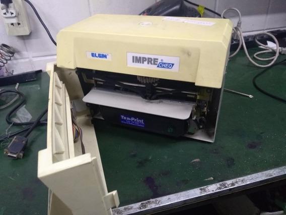 Impressora De Cheque Elgin Usada