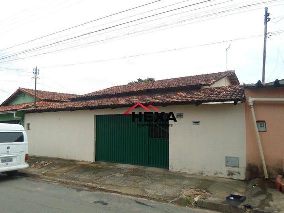 Casa Residencial À Venda 3 Quartos Mais 2 Barracões, Jardim Nova Esperança, Goiânia. - Ca0346