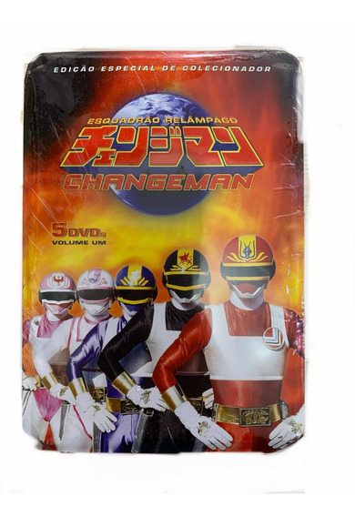 Changeman Box Lata Dvd Volume 1 Lata Amassada