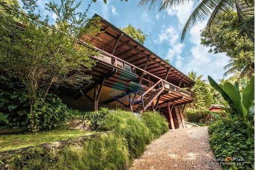 Imagem 1 de 30 de Casa Com 3 Dorms, Praia Do Pulso, Ubatuba - R$ 3.5 Mi, Cod: 1423 - V1423