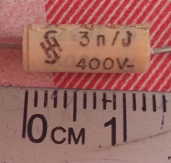 Condensador 3n/400v 10pç